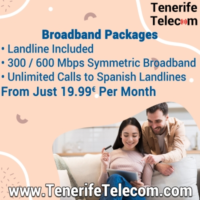 Broadband Fibre Optic Internet Packages From Just 29€